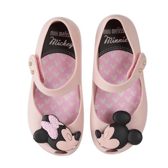 ee886b765cd6 Mini Melissa Ultragirl Disney Twins Light Pink. M 5a7689ee05f430bc15255a29